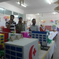 "Al Quds Cultural center participates in ""Recycling Environment Resources"" Exhibition"