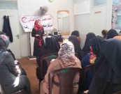 Al Awda Health center in Rafah starts the campaign