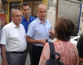 A Solidarity Greek Delegation visits Al Awda Hospital
