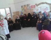 Al Awda Health center Rafah conducts sessions of awareness sessions during the mind of June