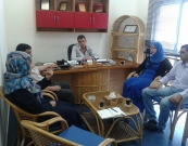 Delegation from Al Shaab Voice visits UHWC