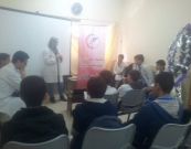 Al Awda Specialist center implements awareness session to students of Al Zahawwi School