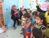 Al Quds Cultural center closes series of linking activities with Al Quds health center and Al Awda hospital